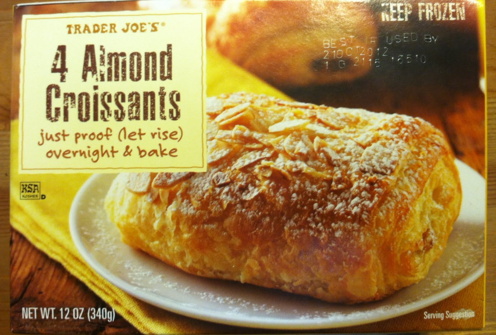 Image result for trader joe's almond croissants