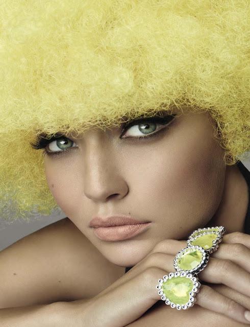 Gigi Hadid in Vogue Italia crazy fashion editorial