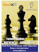 Ultimo Evento Org.y Transmitido por Matvchess