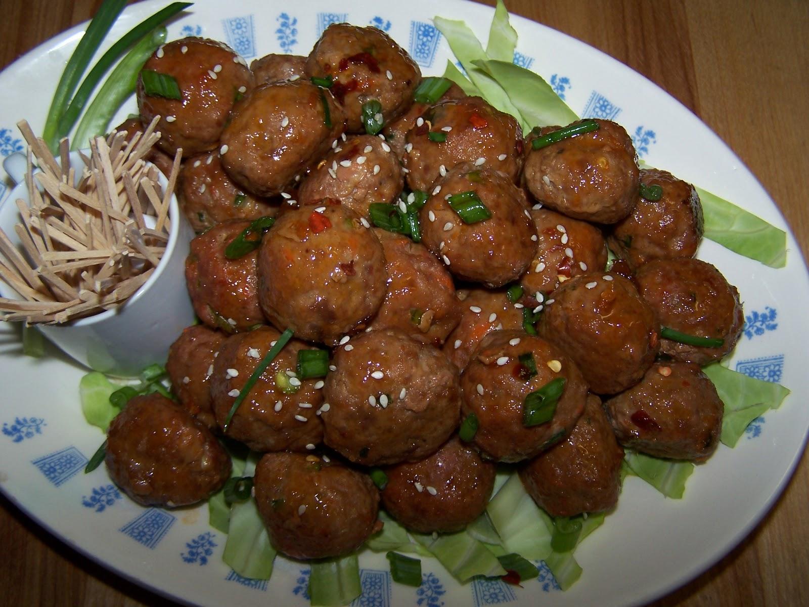 EZ Gluten Free: Asian Party Meatballs