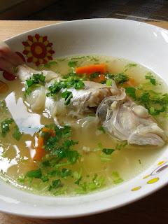 Su, sup ikan, sup ikan kerisi