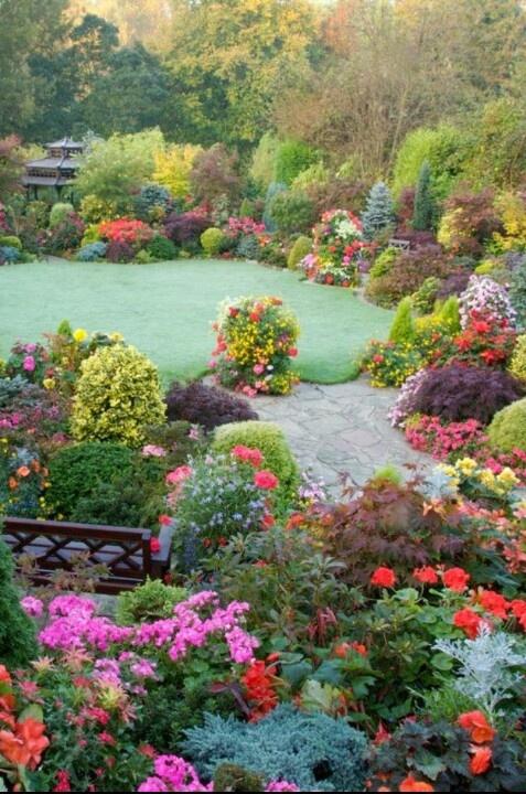 Jardín y Terrazas Imágenes de Jardines Orientales