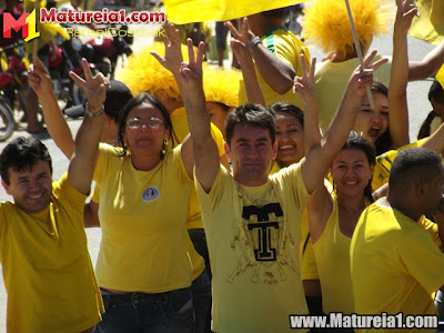 Ciranda, passeata e inauguração do comitê de Chico Mané e Bibi (PSD 55)
