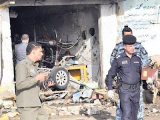 19 maut letupan bom di iraq