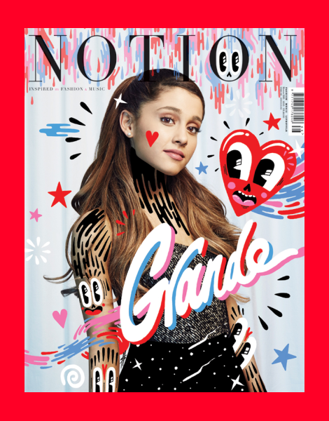 Ariana Grande covers Notion Magazine No.66