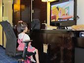 Kristi loves cartoons!