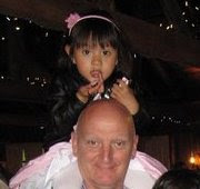 photo le 29 mai 2011 Picture of Noémi in may 2011 with her father at the party of FUF