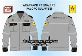 WEARPACK Baju Praktek Bengkel.
