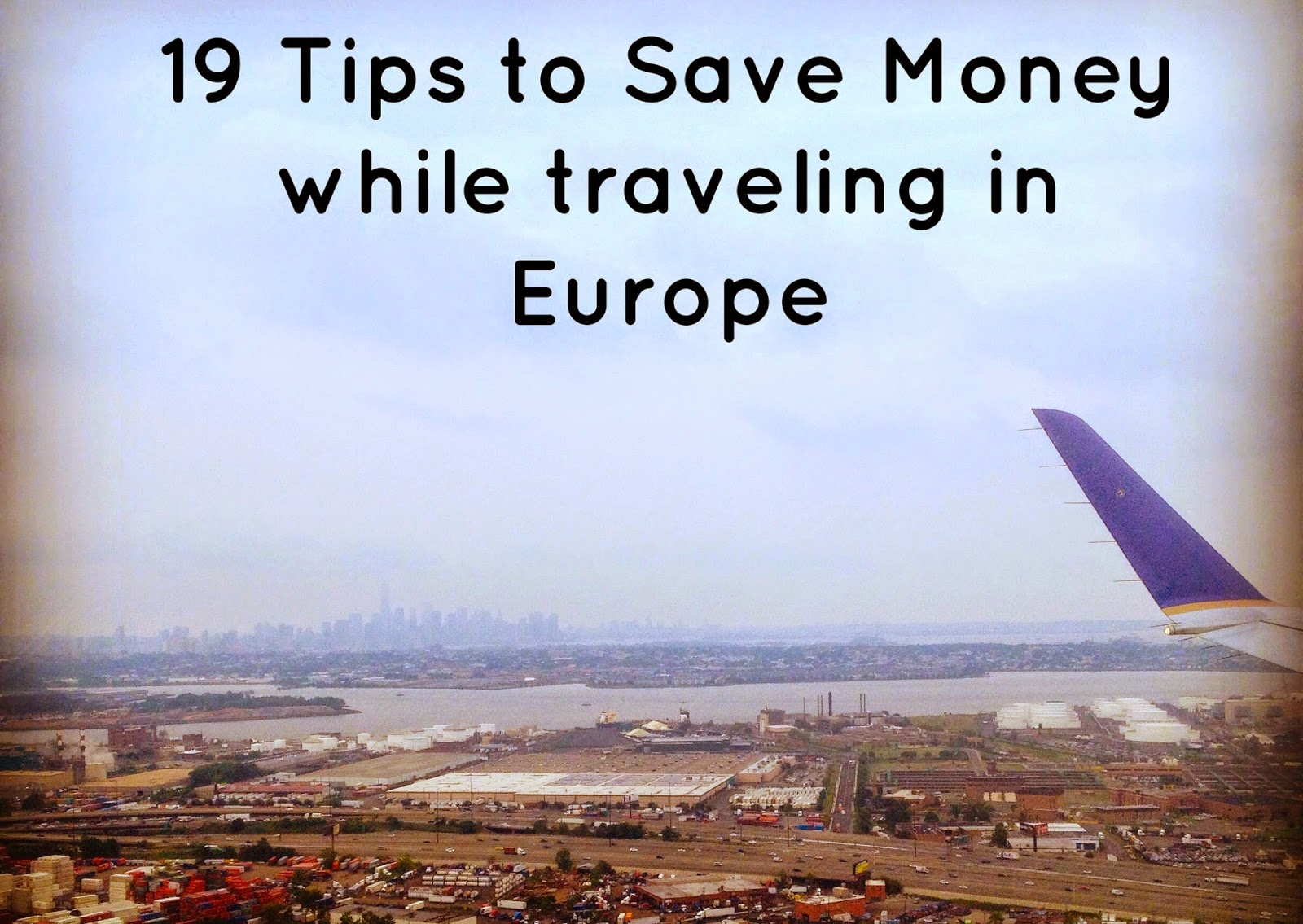 travel tips to save money in Europe