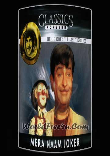Poster Of Hindi Movie Mera Naam Joker (1970) Free Download Full New Hindi Movie Watch Online At worldfree4u.com