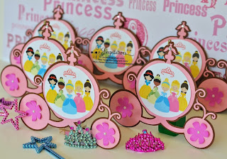 Disney Princess Baby Shower Invitations Cinderella, Snow White, Belle, Sleeping Beauty and Princess Tiana