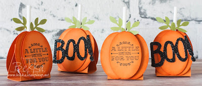 Halloween Week - How To Make Pumpkin Lollypops using Stampin' Up! UK Supplies