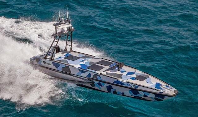 kapal robot katana israel