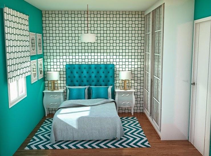 Arantxa amor decoraci n una peque a y preciosa - Como poner dos camas en una habitacion pequena ...