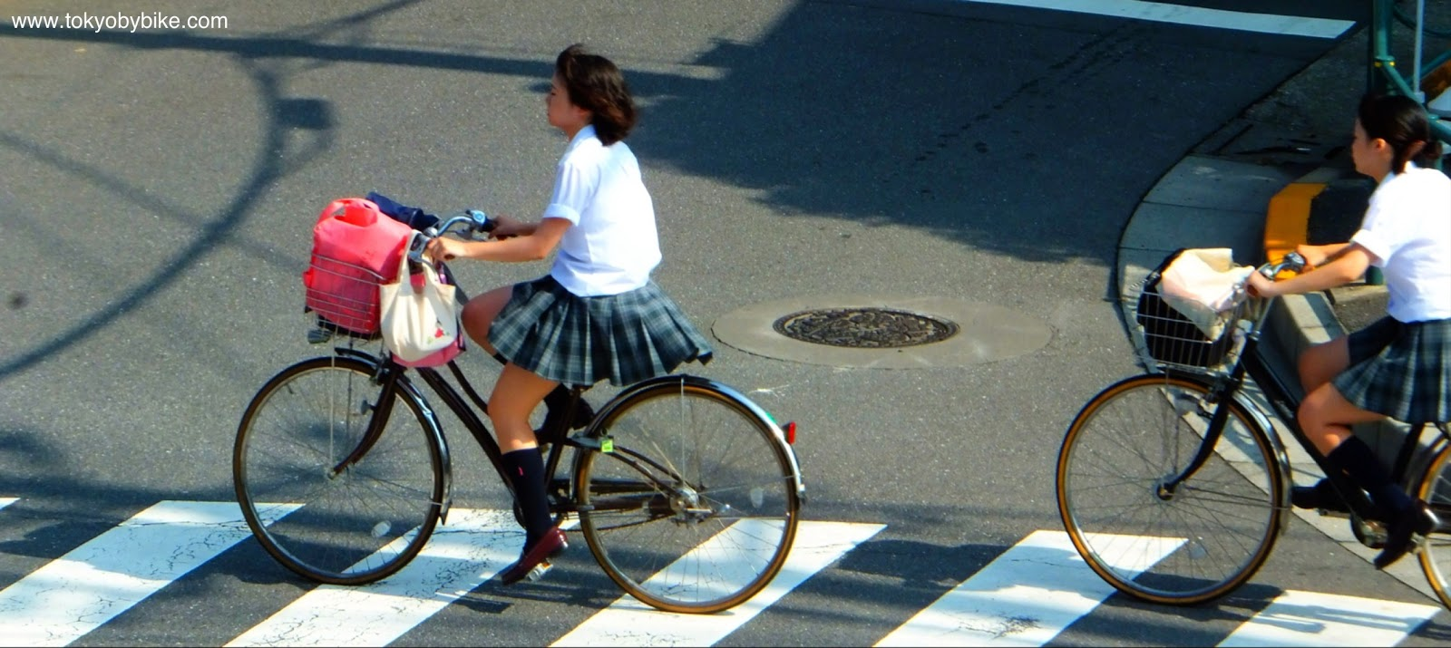 Walking And Cycling To School In Japan Tokyo By Bike Cycling