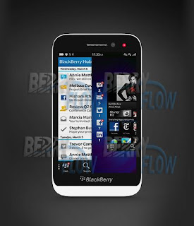 Blackberry Z5 Versi Murah Blackberry Z10 Menampakan Diri