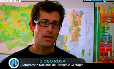 Diogo Rosa; LNEG; Laboratorio Nacional de Engenharia e Geologia; Falar Global; SIC; Diogo Rosa LNEG; Laboratorio; Nacional; Engenharia; Geologia; Entrevista