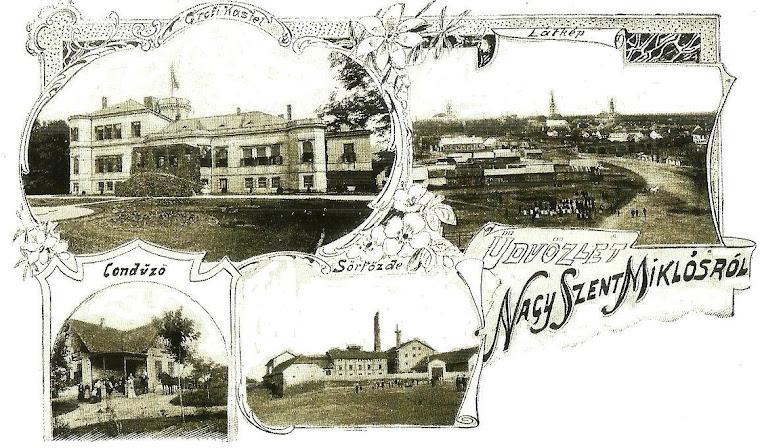Sannicolau Mare in jurul anilor 1900