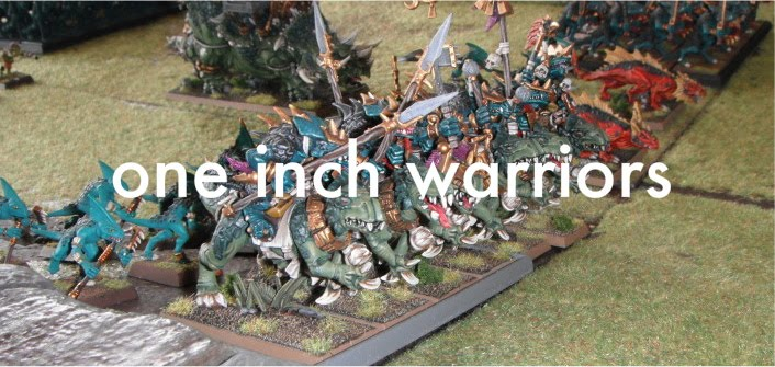 one inch warriors