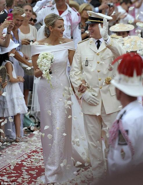 Свадебная церемония Альбера II и Шарлин Уитсток.