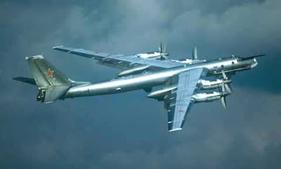 Tu-95 V release plane that dropped the tsar bomba