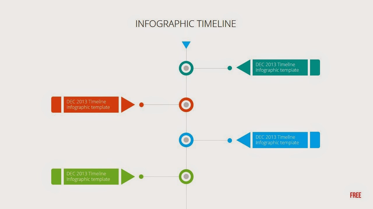 animated vertical timeline for powerpoint template, Modern powerpoint