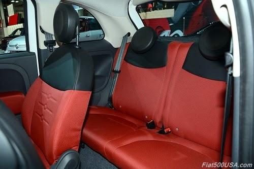 Fiat 500 Ribelle Interior
