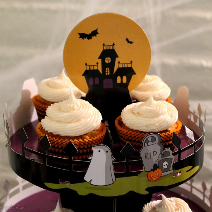 i loaded up my cupcakes into this adorable halloween cupcake stand from good cook and fell in love i want one of these adorable stands for every season - Halloween Cupcake Holder