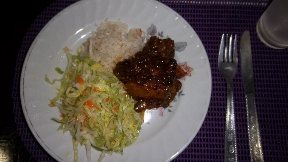 El Caribe Real: Enero 8. San Marcos. Lengua en salsa dulce