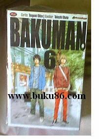Komik Bakuman Bekas Lengkap