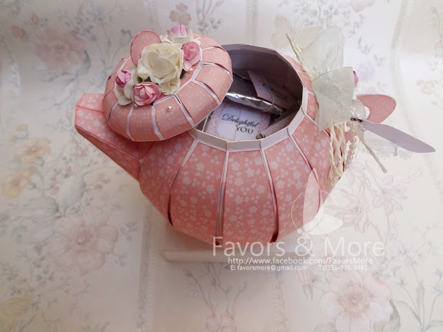Little Miss Tea Pot - in soft Pink