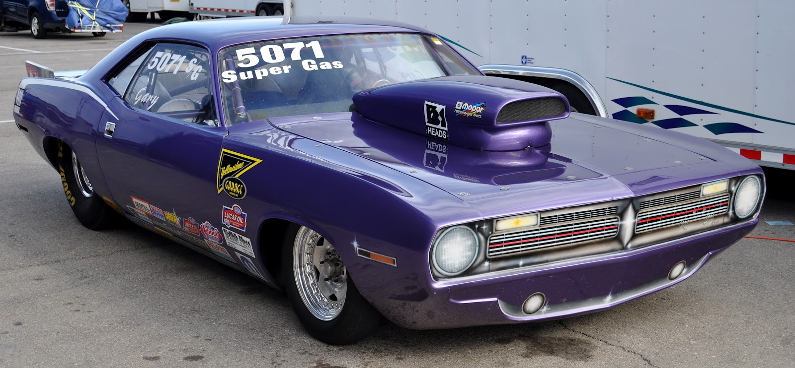 Classic Cars Authority: Super Gas 440 Barracuda, with a wicked ...