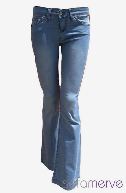 Yeni Moda Bayan Bol Paça Pantolonlar