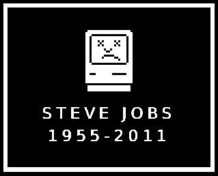 Steve Jobs  1955-2011 [This is a Sad Mac]