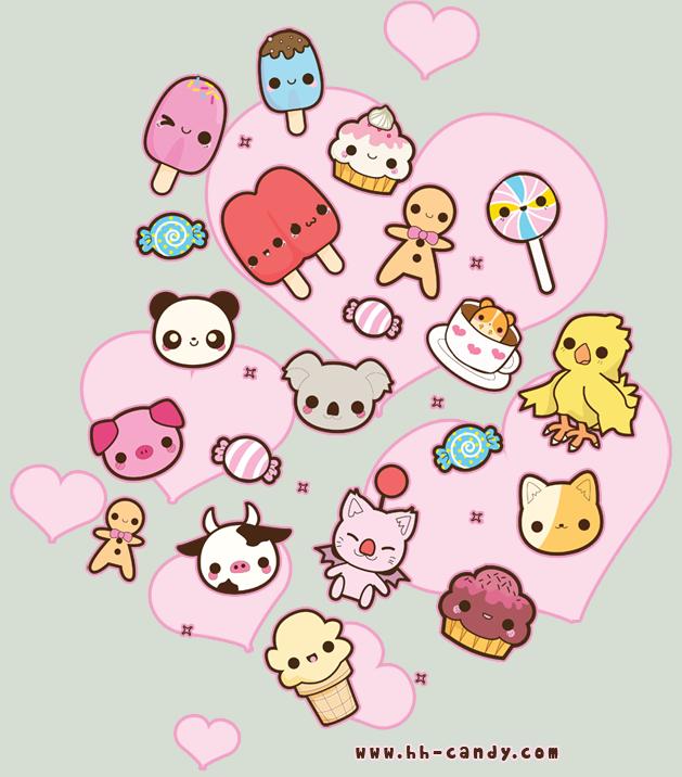 Cherry Cupcake Brushes Kawaii