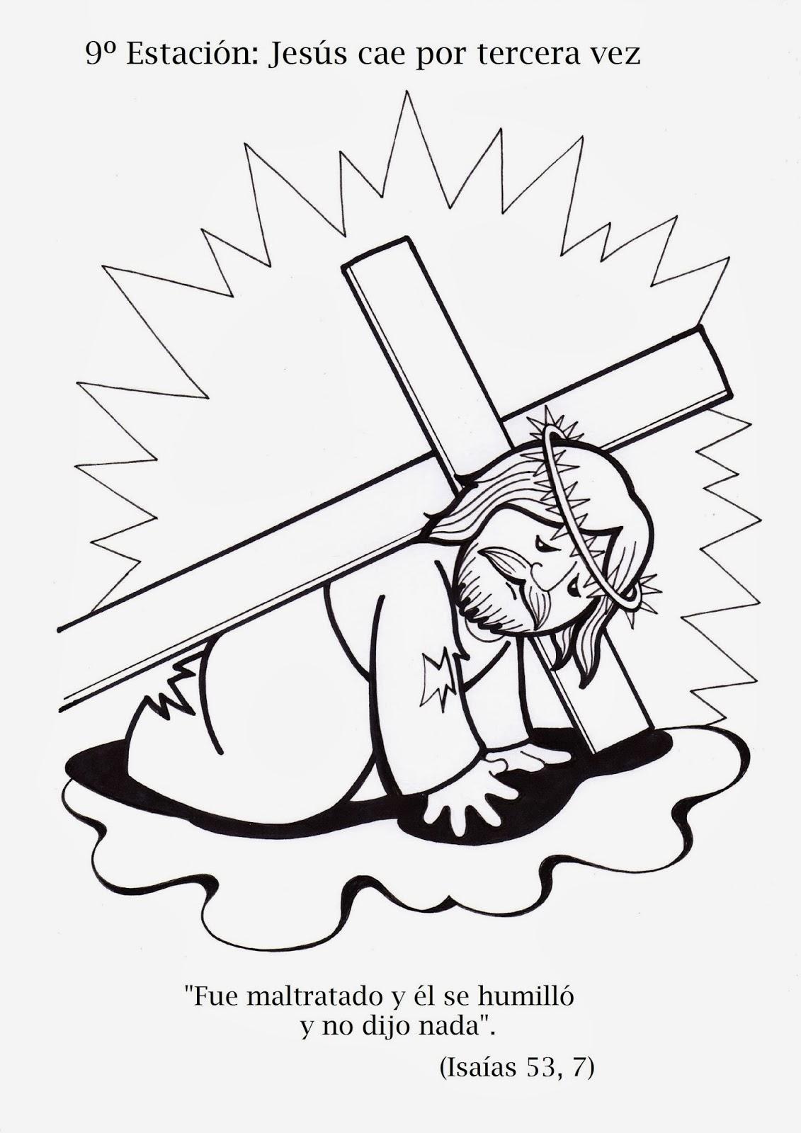 la catequesis  el blog de sandra   v u00eda crucis para