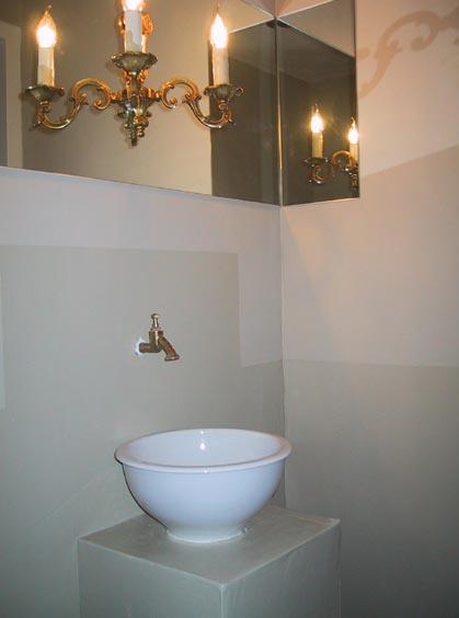 floating chandelier