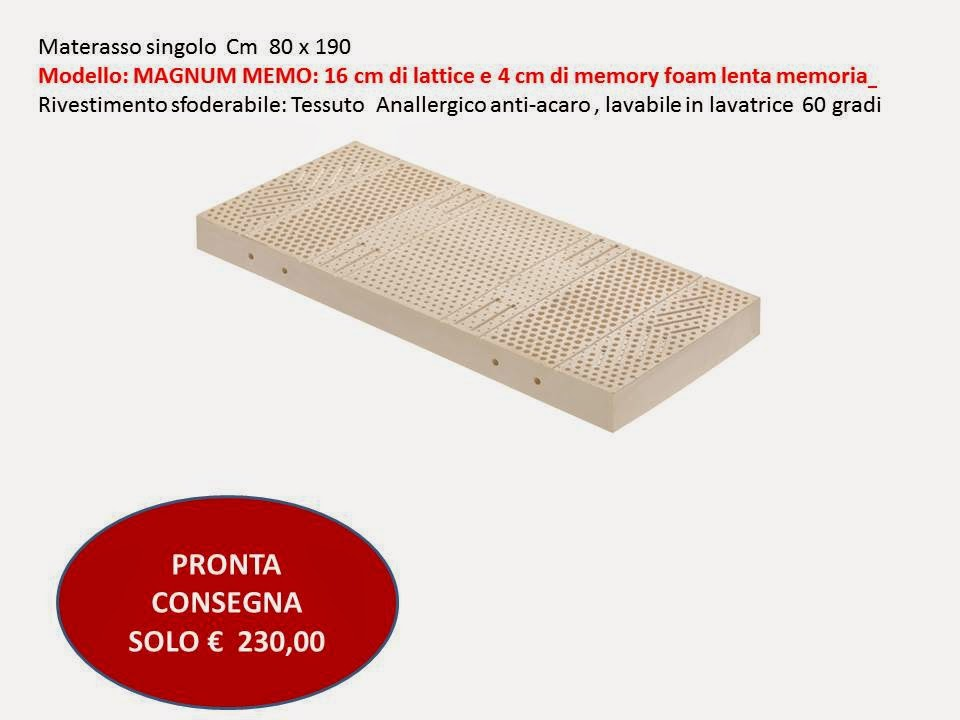 Materasso in lattice tutte le offerte cascare a fagiolo for Materasso in lattice ikea