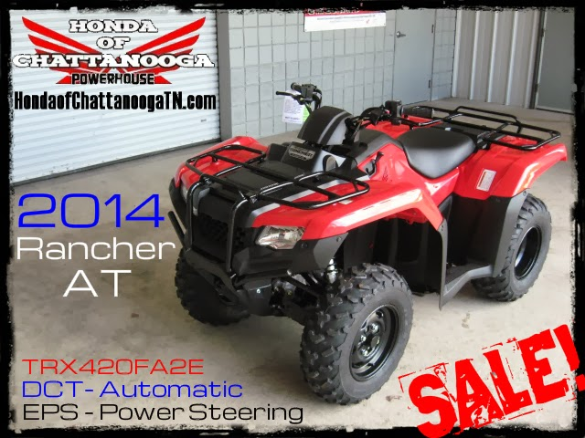 2014 Rancher 420 Sale At Dct Es Eps More In Stock At Honda