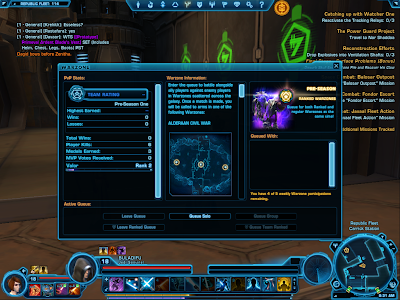 SWTOR - Warzone Limit