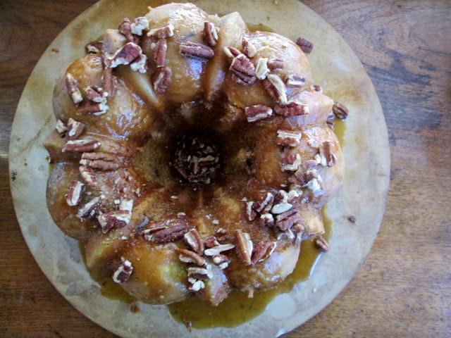 Woodford Bourbon Pecan Pound Cake