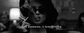 And suddenly, I felt nothing.