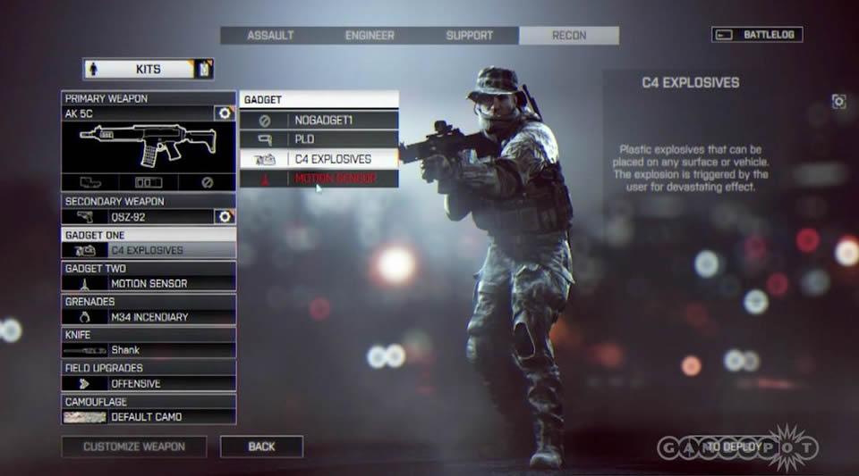 Battlefield 4 - Tudo Sobre Customização de Arma e de Soldado Battlefield-4-menu-options-2