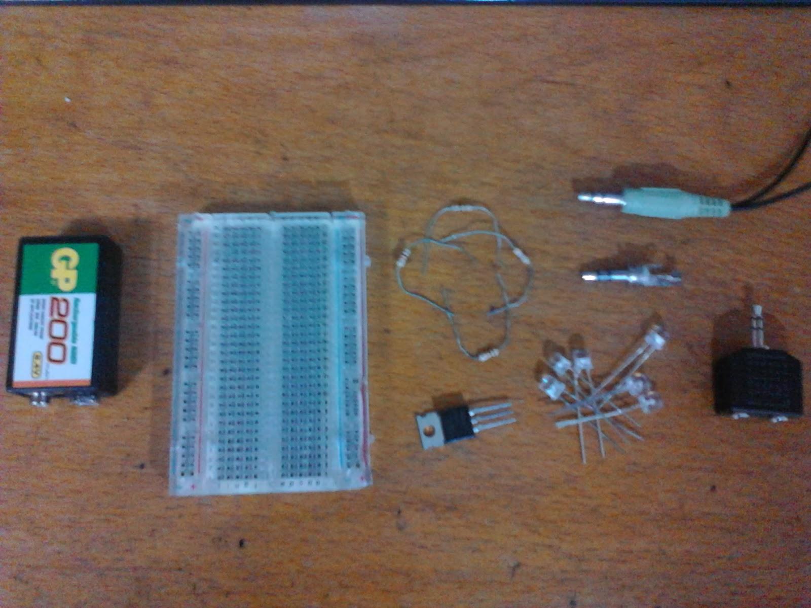 Circuito Luces Audioritmicas : Luces led audioritmicas solo canal electronica for