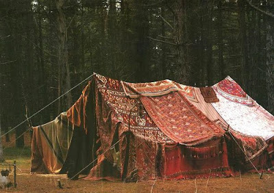 Whether I go with a Yurt an upscale canvas tent or a bohemian gypsy tent I think I see a tent in my horizon. & WICKED FAERIE QUEEN: TENTS.......NOT JUST FOR CAMPING.