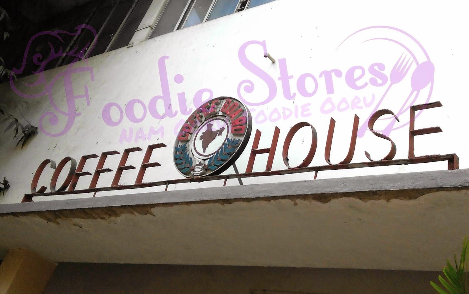 India Coffee House, Coffee Board Bangalore