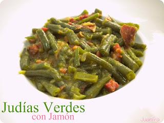 Jud as verdes con jam n - Tiempo coccion judias verdes ...