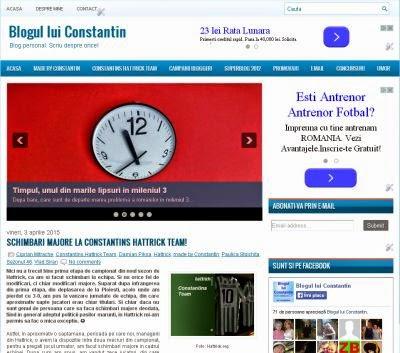 Blogul lui Constantin