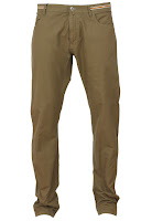 Pantaloni Massimo Dutti Simple Dark Brown