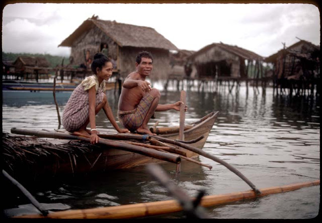 Bajau Laut couple